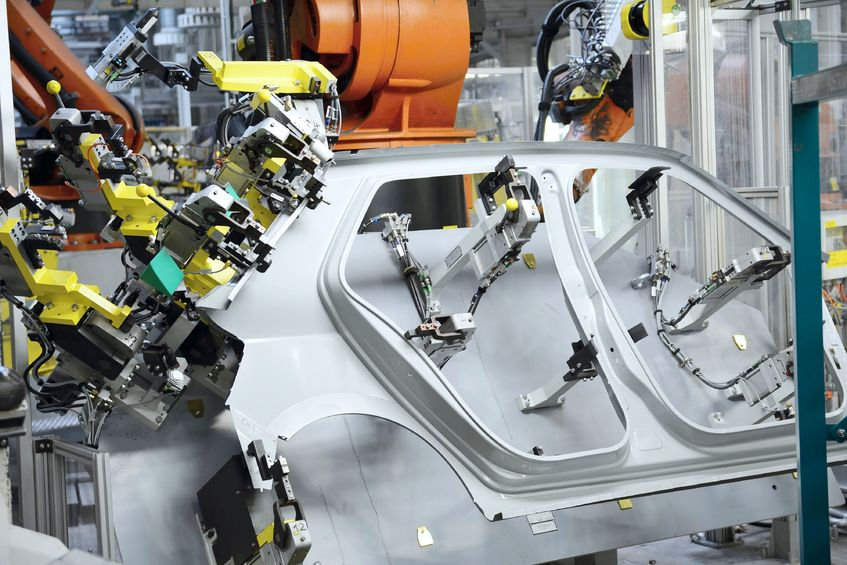 Car production line safety