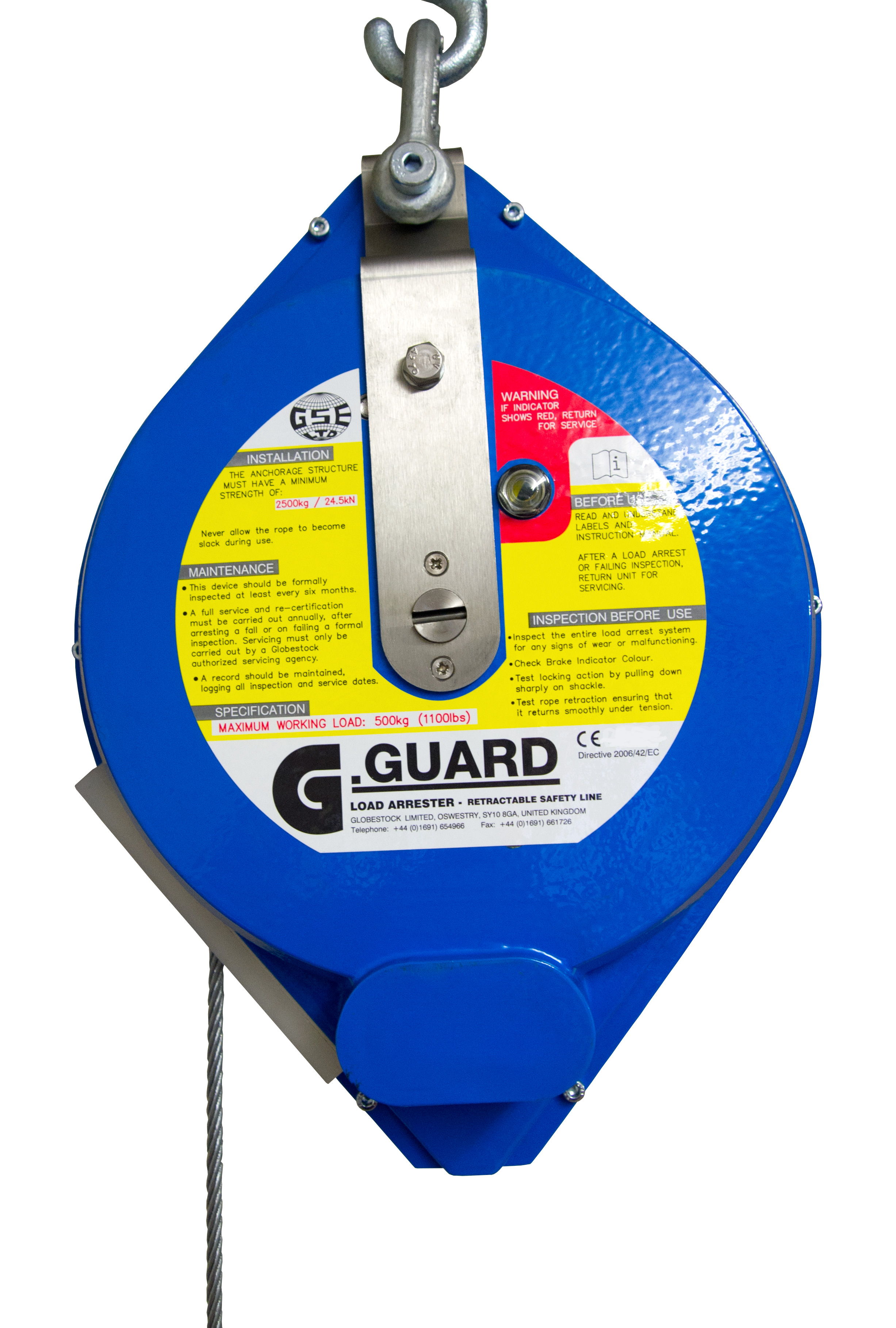 G.Guard 500kg Load Arrest