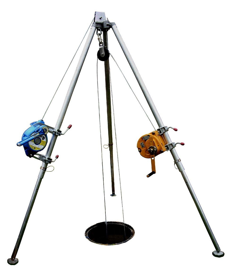 Tripod with Winch