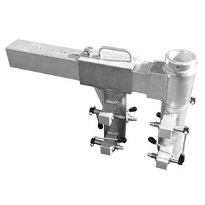 adjustable clamp socket, trench mount socket for davits