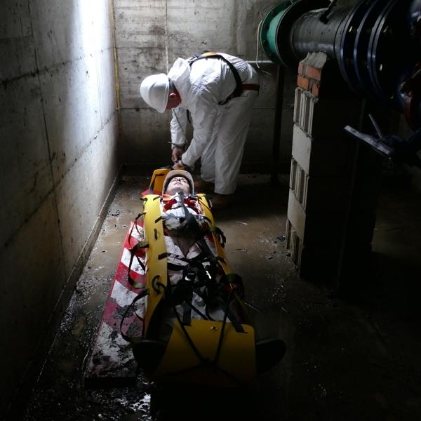 confined space rescue stretcher